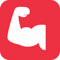 arm, body, bycep, elbow, fitness, human, muscle icon