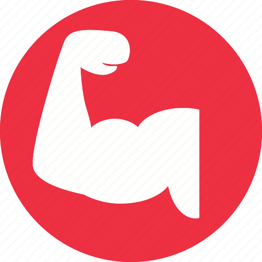 arm, bycep, fitness, gym, health, healthcare, muscle icon