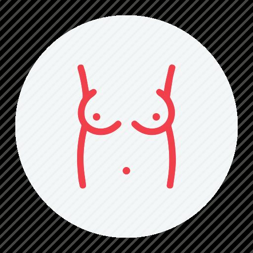 bobs, body, female, tits icon