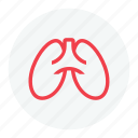 breath, lungs, lungs icon, pulmonology icon icon