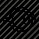 eye, eyeball, human, iris, optical icon