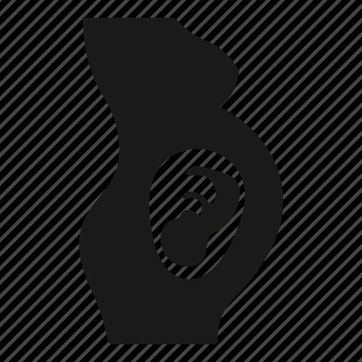 Embryo, fetus, pregnancy, pregnant icon - Download on Iconfinder