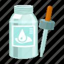 bottle, disease, dropper, drug, medical, medication, medicine icon