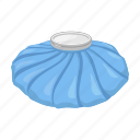 cold, compress, container, cooling, disease, ice, medicine icon