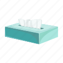 hygiene, napkin, pack, paper, runny nose icon