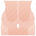 bottom, buttock, hip, human, muscle