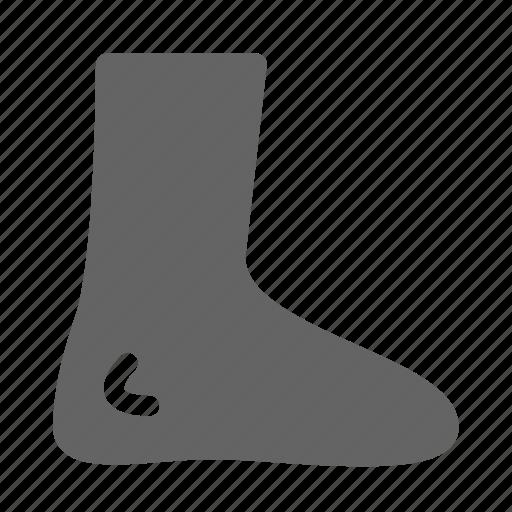 feet, foot, leg icon