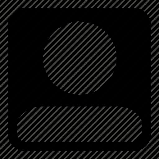 account, avatar, business, human, person, profile, user icon