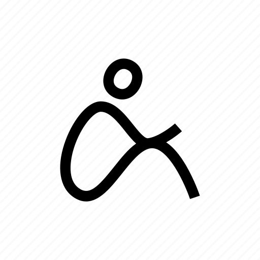 body, floor, human, man, pose, sit, sitting icon
