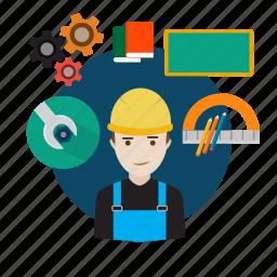 architecture, avatar, construction, design, house, sketch, structure icon