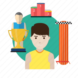 activity, atlet, avatar, character, energy, exercise, sportive icon