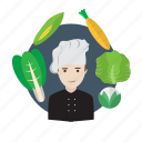 avatar, chef, cooking, cuisine, food, menu, restaurant icon
