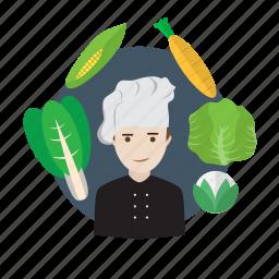 avatar, chef, cooking, cuisine, food, menu, restaurant icon