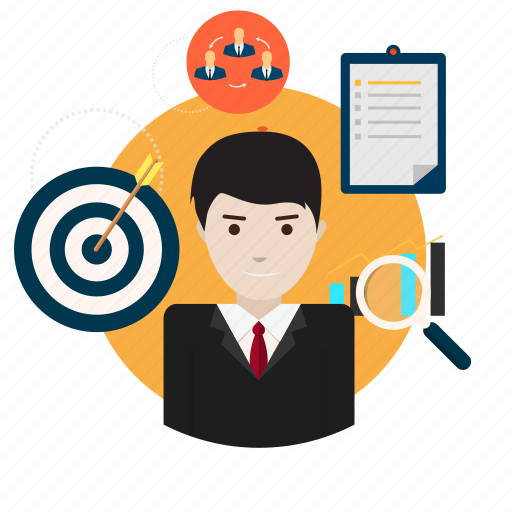 avatar, business, management, manager, organization, project, work icon