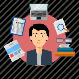 avatar, development, internet, programmer, programming, technology, web icon