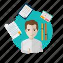 avatar, creative, journalist, paper, people, text, write