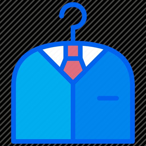 job, man, suit, tuxedo, work icon
