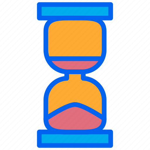 glass, hour, loading, minute, time icon