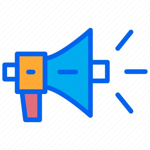ads, loud, marketing, promotion, speaker icon