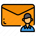 email, mail, message, networking, profile