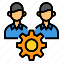 collaborate, management, network, partner, team