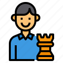 avatar, businessman, human, resource, seo, strategy
