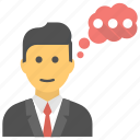 chat, chatting, client chat, customer representative, talking icon