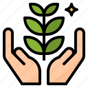 consulting, eco, environmental, green icon