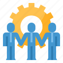 business, cooperation, team, work icon