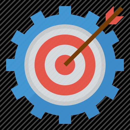 Business, goals, management, target icon - Download on Iconfinder