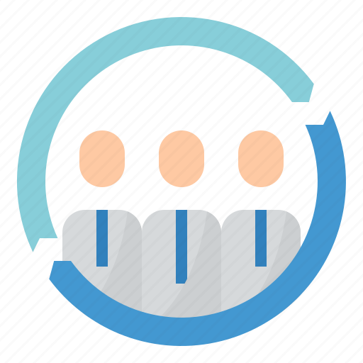business, human, jobs, resources icon