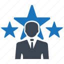 businessman, profile, ranking, success, user icon