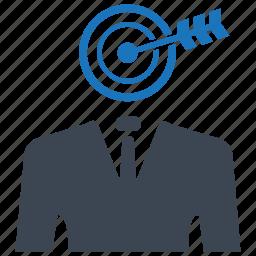 achievment, ambition, business aim, business goal, dartboard icon