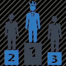 achivement, leader, success, team, winner icon