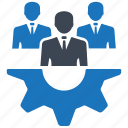 business, control, gear, planning, strategy icon