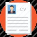 curriculum vitae, cv, job hunt, resume, talent hunt