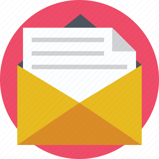 Email, letter, mail, message, post icon - Download on Iconfinder