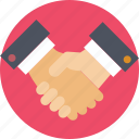 collaboration, deal, handshake, partnership, shaking hands icon