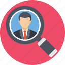 candidate, employment, hiring, interview, recruitment icon