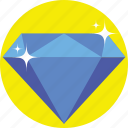crystal, diamond, gem, jewelry, pearl icon