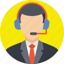 call center, customer care, customer service, customer support, telemarketing icon