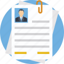 job hunt, talent hunt, cv, curriculum vitae, resume icon