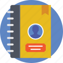 address book, phone directory, phonebook, telephone directory, yellow pages icon