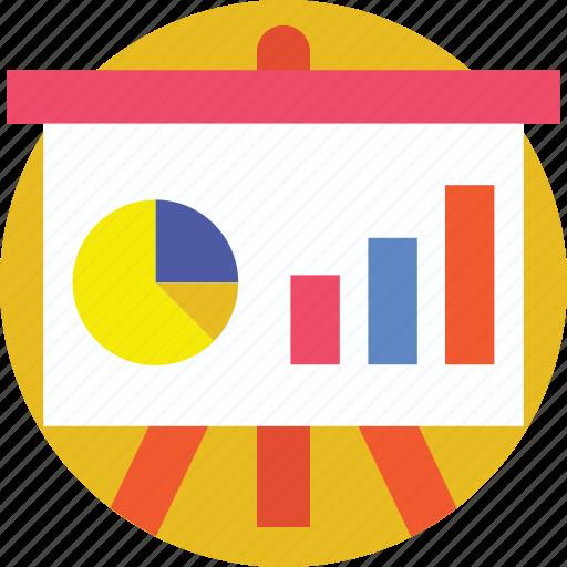 analytics, graph, presentation, statistics, stats icon