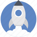 missile, rocket, rocket launch, startup, startup launch icon