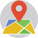 gps, locator pin, map, navigation, navigation pin icon