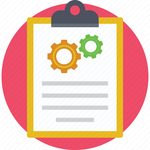 Business report, clipboard, document, project report, report icon - Download on Iconfinder