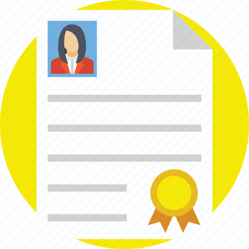 award, certificate, certification, certified employee, diploma icon