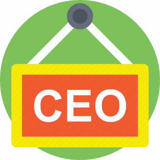 ceo, ceo office, chief executive, chief executive officer, management icon
