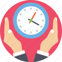 clock, routine, time, time management, time table icon